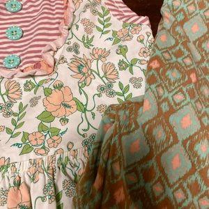NWOT Matilda Jane sleeveless dress and leggings
